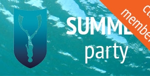Go Freediving Summer Party Club Members