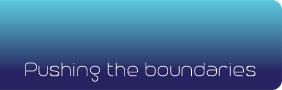 Blue Abyss 50m pool - Pushing the Boundaries logo