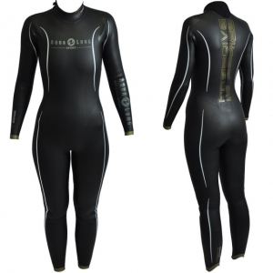 Aqua Lung Sport Freediving Suit, female front and back view