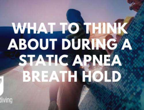 What to think about during a static apnea breath hold
