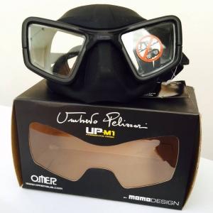 Umberto Pelizzari freediving mask
