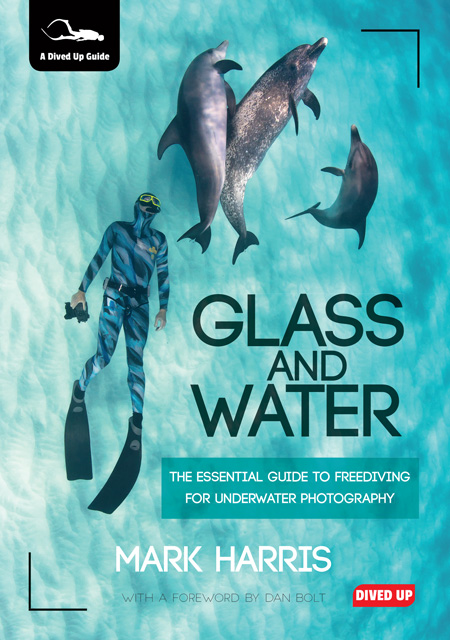 Glass and Water by Mark Harris Book Cover for review at Go Freediving