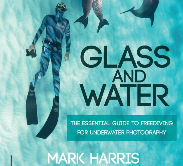 Glass and Water by Mark Harris Book cropped shot of book cover for review at Go Freediving