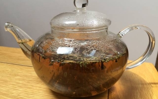 Go Freediving herbs to help equalisation plantain and eyebright tea in teapot web version