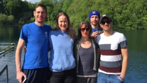 Go Freediving beginners freediving course with Marc, Emma Farrell, Nic, Tom Elliot and Ramzi RAID Freediver course at Vobster Quay May 29 2016