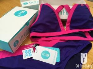 Fourth Element Ocean Positive swimwear Tiga bikini made from recycled ghost fishing nets