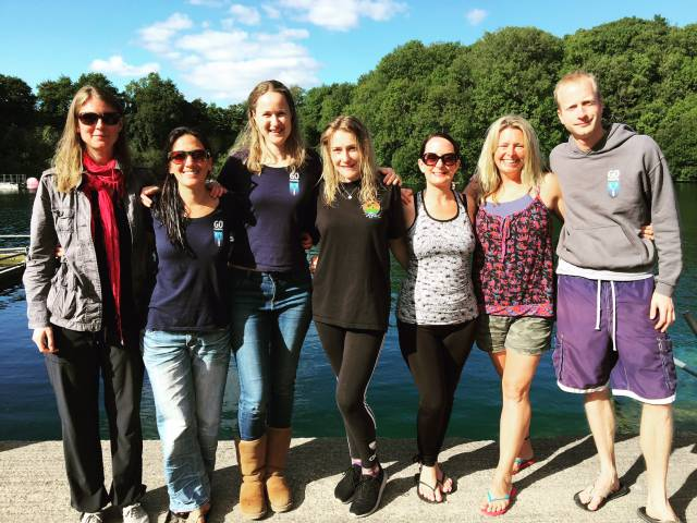 Go Freediving UK Freediving Course Aug 14 2016 students and instructors