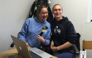 Emma Farrell and Katherine Wood on Go Freediving Underwater Filming Course