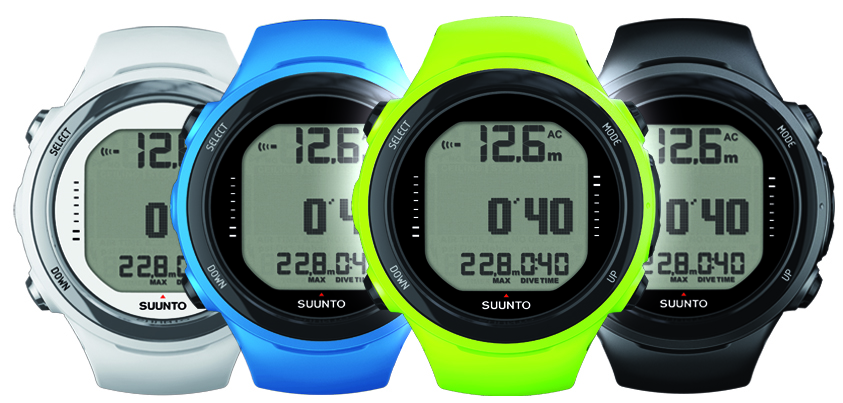 Beginners Guide to Freediving - equipment for freediving - Suunto D4i