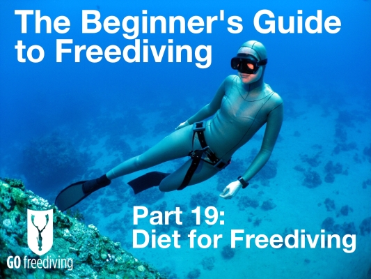 Beginners guide to freediving Diet for Freediving