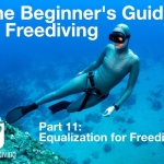 Beginners guide to freediving Equalization for Freediving