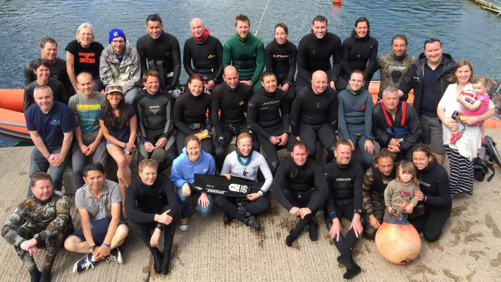 Go Freediving Summer Party 2015 Group Photo