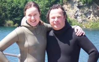 Emma Farrell Go Freediving Hugh Fearnley-Whittingstall