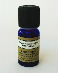 Steam inhalation for freediving rosemary essential oil