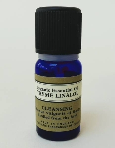 Steam inhalation for freediving thyme essential oil