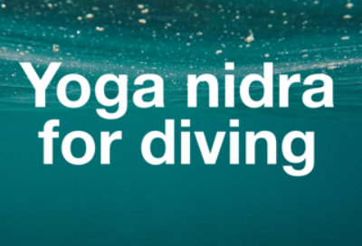 Yoga nidra for Diving cropped