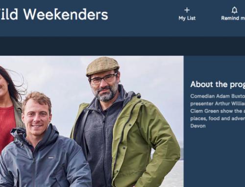 Freediving on The Wild Weekenders Channel 4