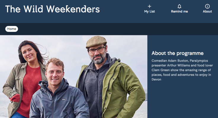 Go Freediving on The Wild Weekenders Channel 4 Arthur Williams Clem Green Adam Buxton