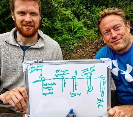 Go freediving - Freediving courses in May - George and Andy