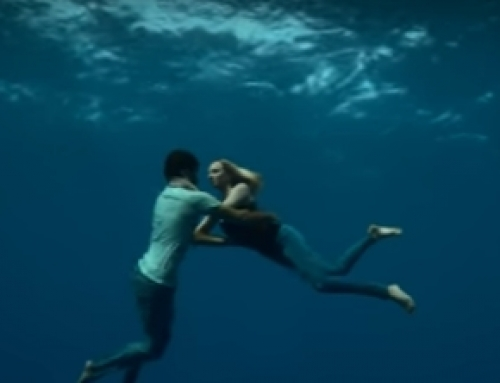 Freediving in a music video? Really?