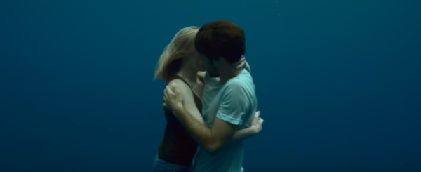 Go freediving Freediving in a music video Naughty Boy Runnin Lose It All ft. Beyoncé image 3