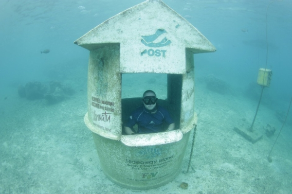 Go Freediving - 10 things you can find underwater - underwater post office