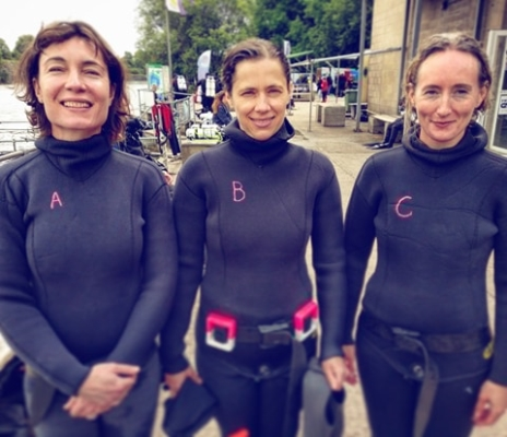go freedving - summer freediving courses in the uk - 3 students