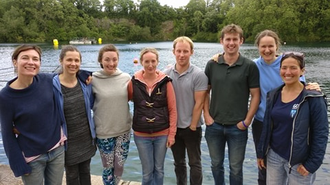 go freedving - summer freediving courses in the uk - group photo