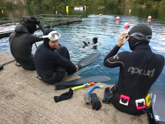 Weekend Freediving Courses in September - getting ready