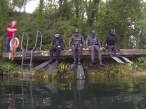 freediving in september vobster