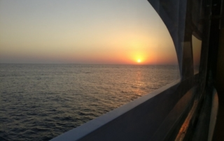 Liveaboard diving holiday on the Red Sea - Sunset