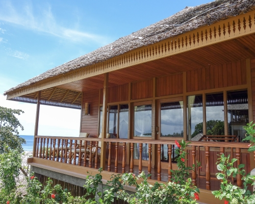 freediving holiday in Indonesia cottage+2+balcony