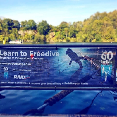 local freediving course - Go Freediving banner
