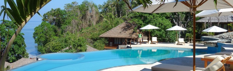 freediving holiday in Indonesia - resort