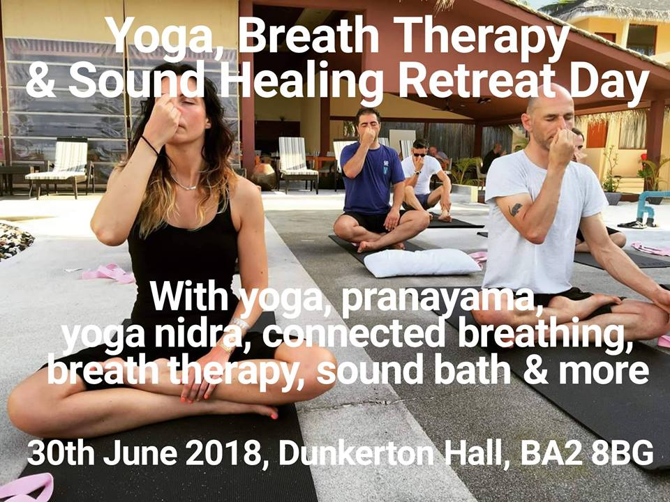 Yoga, Breath Therapy and Sound Healing Retreat Day