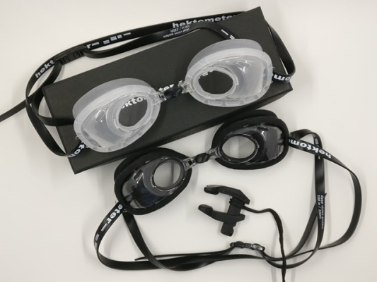 hektometer freediving goggles Air filled no need to equalise12