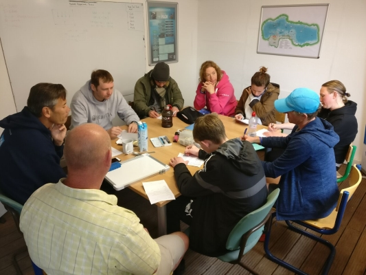 Go freediving - freediving courses in 2018 - classroom