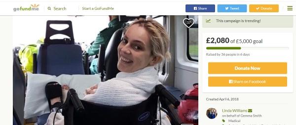 go freediving - gemmas accident - go fund me