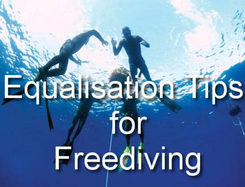 Equalisation Tips From Go Freediving