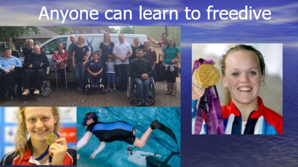 go freediving - plastic pollution and freediving in yeovil talk - anyone can freedive