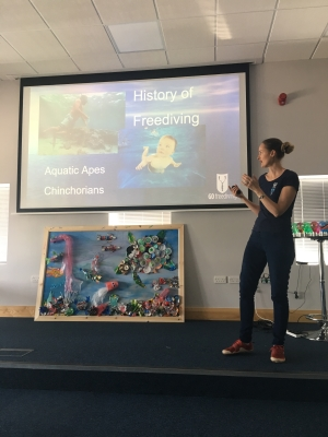go freediving - screwfix presentation