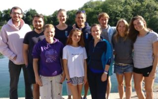 go freediving - what happens on a freediving course - group photo