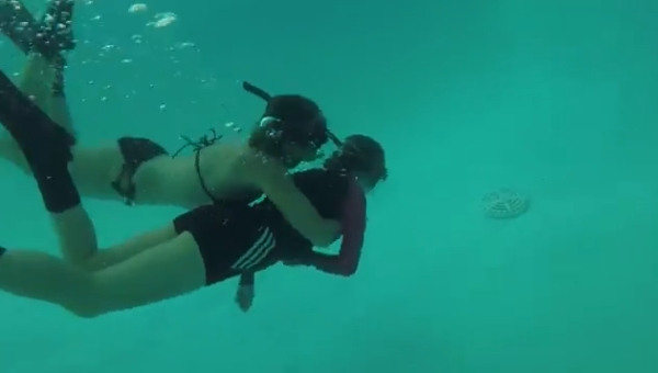 go freediving - what happens on a freediving course - pool session