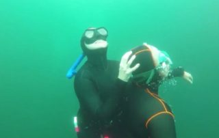 consider on a freediving course -14