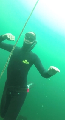 consider on a freediving course - equipment