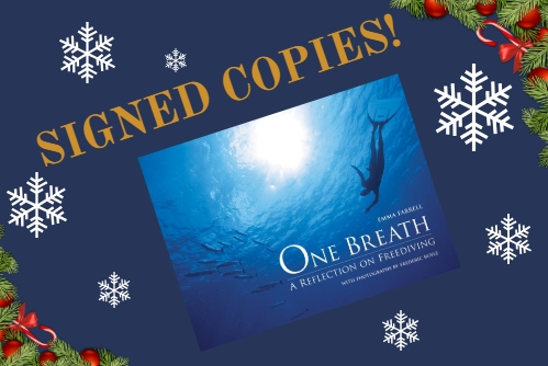 Christmas gifts for freedivers - book