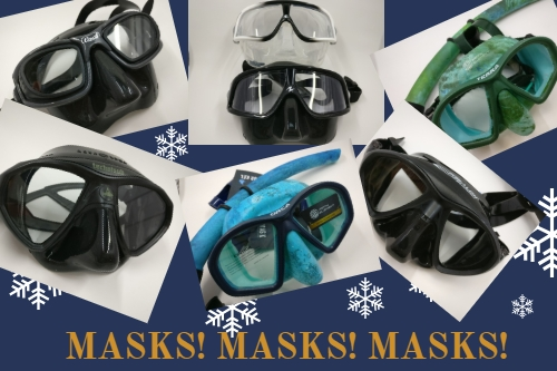 christmas gifts for freedivers - masks