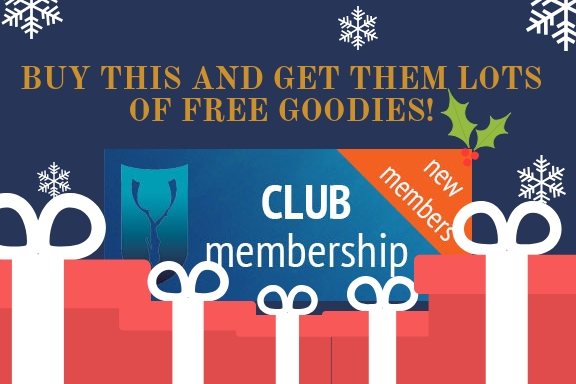 freediving christmas gift - membership