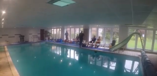 freediving in october - glebe house