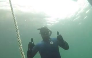 freediving in october - vobster8